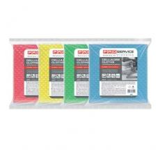 Купить Салфетки целлюлозные Professional 18х18 см, 5 шт/уп, зеленые
