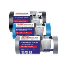 Купить Пакеты для мусора 35 л, Standard 50х55 см, плотность 7 мкм, 100 шт/уп, синие