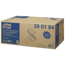 Купить Полотенца бумажные ZZ сложения Tork Advanced Singlefold 2-х слойные, 200 листов 23х23 см, белые H3