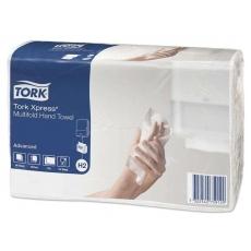 Купить Полотенца бумажные Tork Xpress Advanced Multifold 2-х слойные, 190 листов 23,4х21,3 см, белые H2