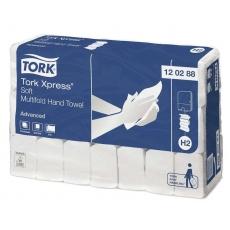Купить Полотенца бумажные Tork Xpress Advanced Multifold 2-х слойные, 136 листов 34х21,2 см, белые H2