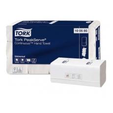 Купить Полотенца бумажные с непр. подач. Tork PeakServe Continuous 1 слойные, 300 листов 23х23 см, белые H3