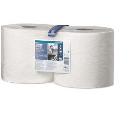 Купить Протирочная бумага Tork повышенной прочности, 2-слойная, 0,235х170 м, 500 листов, белая W2