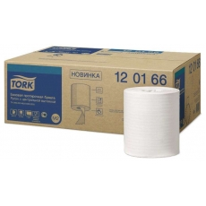 Купить Протирочная бумага Tork базовая, 1-слойная, 0,198х275 м, белая M2