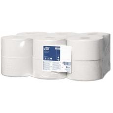 Купить Туалетная бумага и накладки Tork в больших рулонах Mini Jumbo 0,92х200 м, белая, Т2