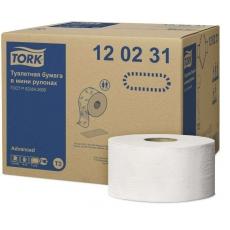 Купить Туалетная бумага и накладки Tork в мини-рулонах Mini Jumbo 0,92х170 м, белая, Т2