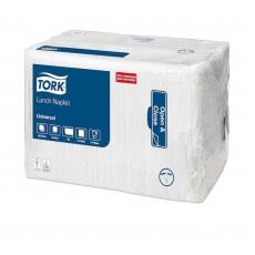 Купить Салфетки Tork 33х33 мм,1-слойные, белые (500 шт)