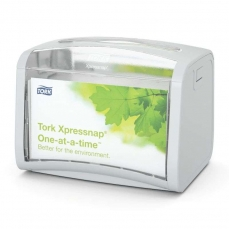 Купить Диспенсер для салфеток настольный Tork Xpressnap, 201х150х155 мм, серый, N4