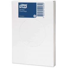 Купить Гигиенические пакеты полиэтиленовые Tork, белые, B5 (25шт/уп, 48 шт/ящ)