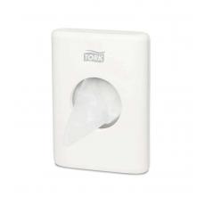 Купить Держатель для гигиенических пакетов Tork, 100х36х140 мм, пластиковый белый, B5 (8 шт/ящ)