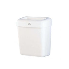 Купить Корзина для мусора Tork, 20 л, 322х205х430 мм, пластиковая белая, B2