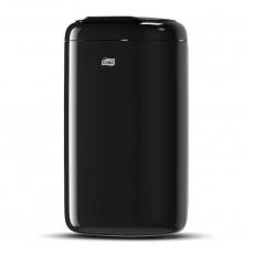 Купить Корзина для мусора Tork, 5 л, 190х160х338 мм, пластиковая черная, B3
