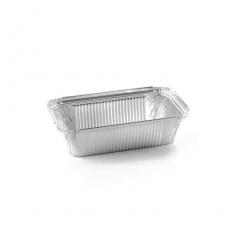 Купить Контейнер алюминиевый прямоугольный 685 мл, R208L, 100 шт/уп. 201x109х49 мм
