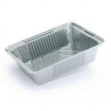 Купить Контейнер алюминиевый прямоугольный 520 мл, R26G, 100 шт/уп. 144x94х48 мм