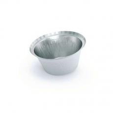 Купить Контейнер алюминиевый круглый 135 мл, T20L, 150 шт/уп. d-87 мм, h-38 мм (крышка 904-0044)