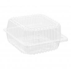 Купить Контейнер пластиковый PS c крышкой 850 мл, 20 HF, 700 шт/уп. 131х131х65 мм