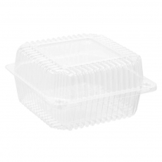 Купить Контейнер пластиковый PS c крышкой 1030 мл, 20 D-1 HF, 700 шт/уп. 131х131х78 мм