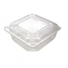 Купить Контейнер пластиковый PS c крышкой 930 мл, 24 HF, 700 шт/уп. 155х151х51 мм