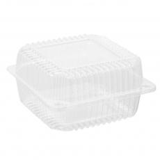 Купить Контейнер пластиковый PS c крышкой 1440 мл, 25 HF, 700 шт/уп. 155х151х79 мм