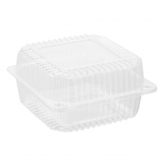 Купить Контейнер пластиковый PS c крышкой 1440 мл, 25-1 HF, 700 шт/уп. 155х151х79 мм