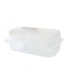 Купить Контейнер пластиковый PS c крышкой 2460 мл, 37 HF, 400 шт/уп. 240х140х100 мм