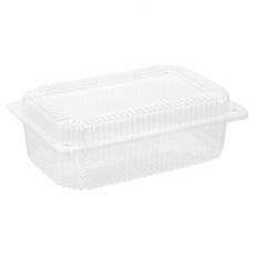 Купить Контейнер пластиковый PS c крышкой 1650 мл, 39-1 HF, 400 шт/уп. 220х140х75 мм