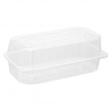 Купить Контейнер пластиковый PS c крышкой 2160 мл, 39 G HF, 400 шт/уп. 220х140х94 мм
