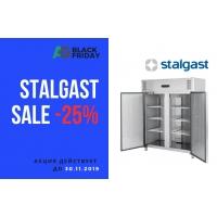 BLACK FRIDAY: -25% на оборудование Stalgast