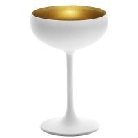 Купить Stolzle Olympic Бокал для шампанского матовый-белый/золотой 230 мл