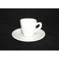 Чашка с блюдцем квадратная 60 мл Helios в интернет магазине профессиональной посуды и оборудования Accord Group