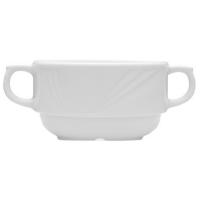 Lubiana Arcadia Бульонная чашка 320 мл с ручками  в интернет магазине профессиональной посуды и оборудования Accord Group