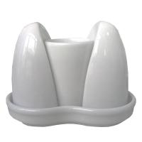 Lubiana Lubiana Блюдце овальное 110 мм в интернет магазине профессиональной посуды и оборудования Accord Group