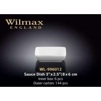 Wilmax Блюдо для соевого соуса 80х60 мм в интернет магазине профессиональной посуды и оборудования Accord Group