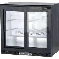 Шкаф холодильный барный Stalgast, 202 л, 882161, двери - купе в интернет магазине профессиональной посуды и оборудования Accord Group