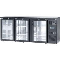 Шкаф холодильный барный Stalgast, с боковым агрегатом, 537 л, двери распашные, 882181 в интернет магазине профессиональной посуды и оборудования Accord Group