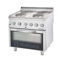 Купить Плита электрическая 4-х конфорочная с духовкой Stalgast 9715000