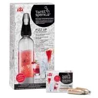 Набор для приготовления напитков и коктейлей Twist'n Sparkle iSi 100530
