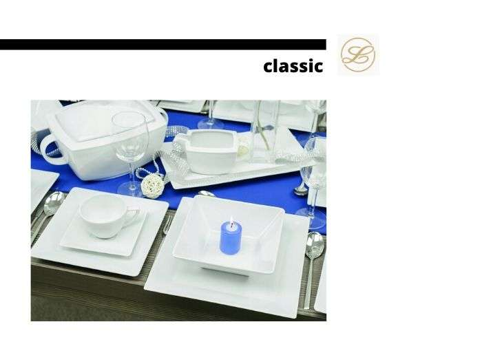 посуда из серии classic