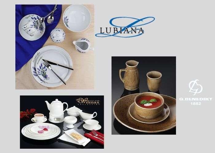 фарфоровая посуда lubiana, g.benedikt, wilmax фото