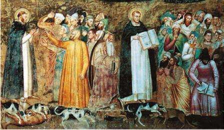 христианство в средневековье фото