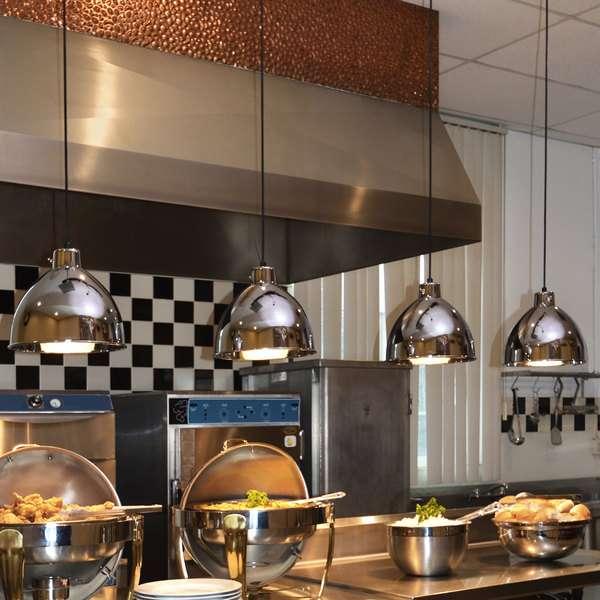 инфракрасные лампы для обогрева кафе и ресторана фото