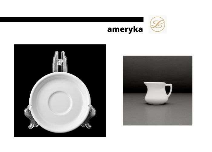 посуда из серии ameryka