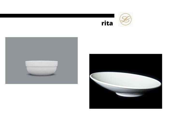 посуда из серии rita