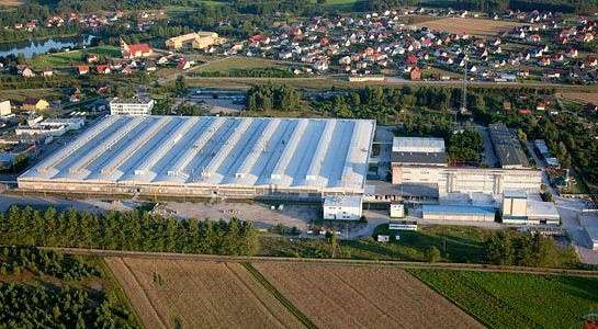 Lubiana Factory in Ćmielów, Poland