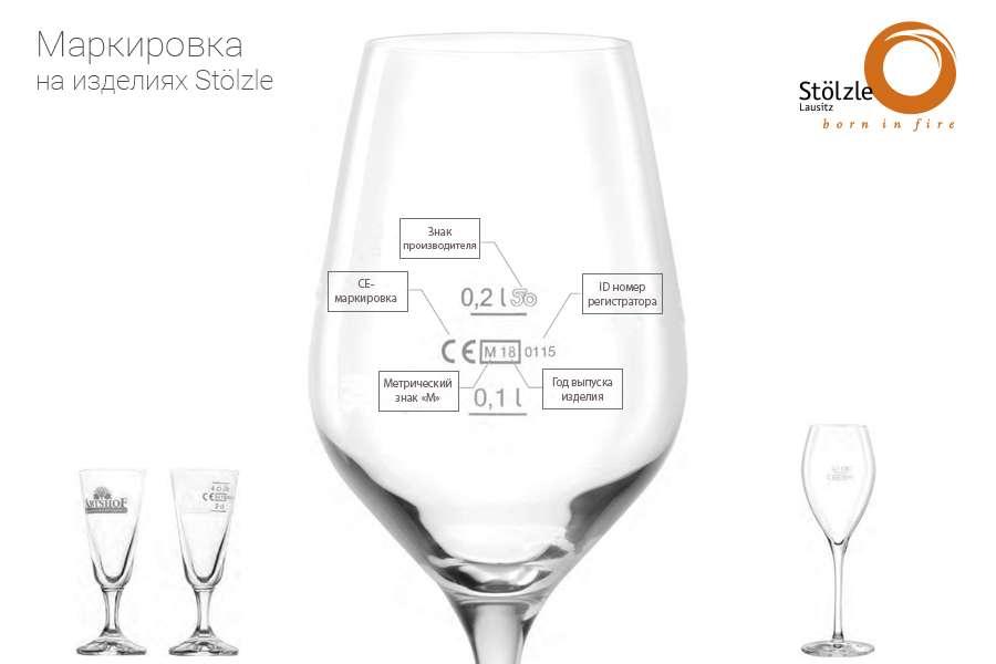 Маркировка на стекле Stölzle