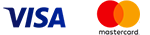 Логотипы Visa и MasterCard